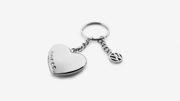 Schlüsselanhänger mit Herz und Volkswagen Logo