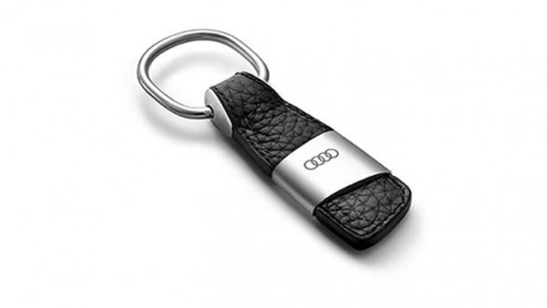 Audi Schlüsselanhänger Leder Ringe