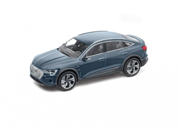 Modellauto Audi e-tron Sportback, Plasmablau, 1:43