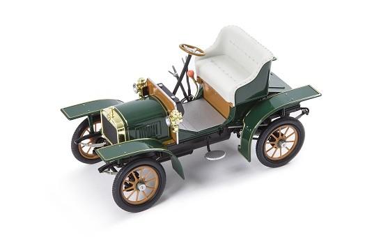 ŠKODA Modellauto L&K Voiturette, 1:18, Farbe Grün