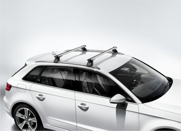 1 Satz Grundträger für Audi A3 8V Sportback mit Dachreling