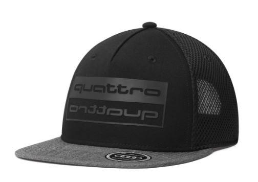 Audi Sport, quattro Cap, schwarz