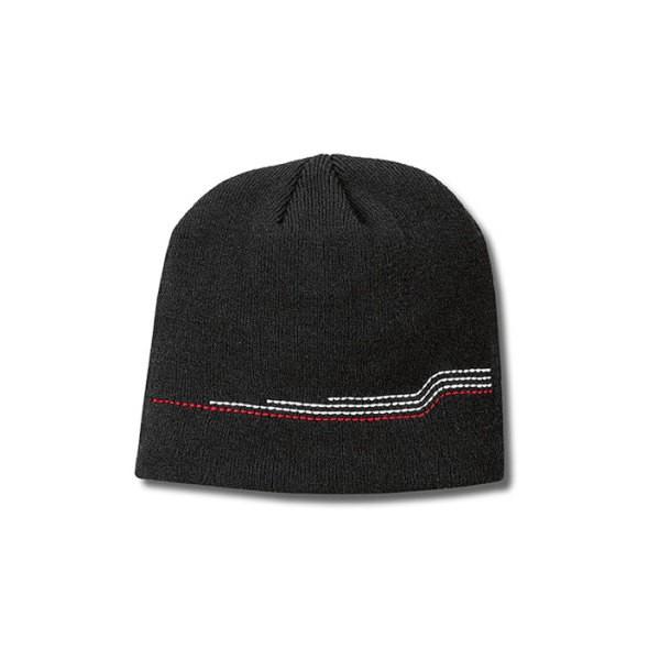 Audi Unisex Strickmütze, S line, schwarz