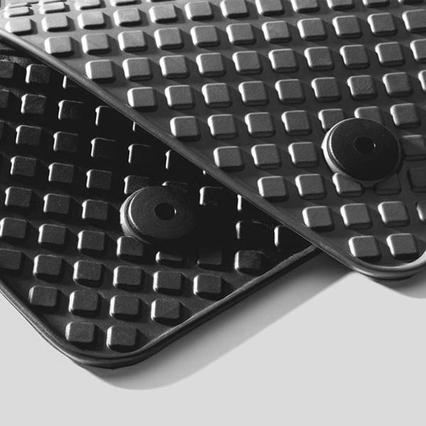 Gummifußmatten-Set vorne, schwarz passend für Audi A6 4F