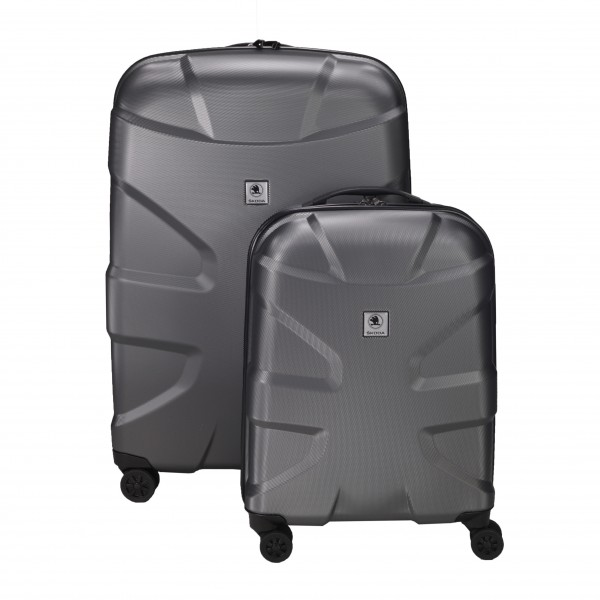 ŠKODA Titan Koffer Set X2 4W Trolley S+L, Anthrazit