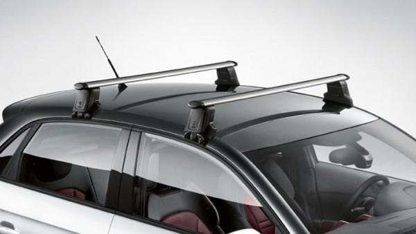 Audi A1 Grundträger für Fahrzeuge ohne Dachreling, MJ 2011 - 2018, T-Nut Sportback