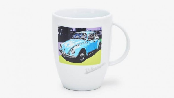 Volkswagen Klassik Becher mit Käfer-Motiv
