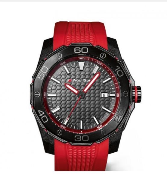 Audi Sport Uhr, Herren, rot