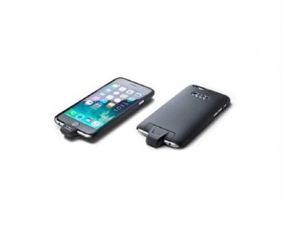Induktive Ladehülle für Apple iPhone 5/5S/SE, Wireless Charging nach Qi-Standard