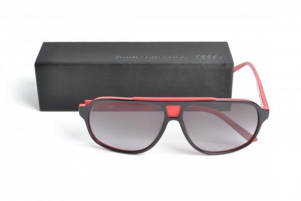 heritage Sonnenbrille, schwarz/rot