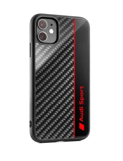 Audi Sport Smartphonecase, iPhone11, grau