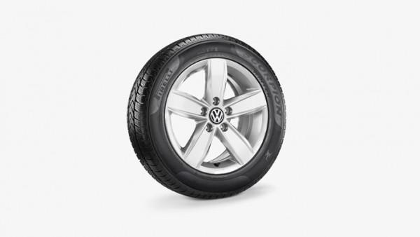 Volkswagen Tiguan Winterkomplettradsatz 215/65 R17 99H Pirelli Scorpion Winter SEAL, Corvara