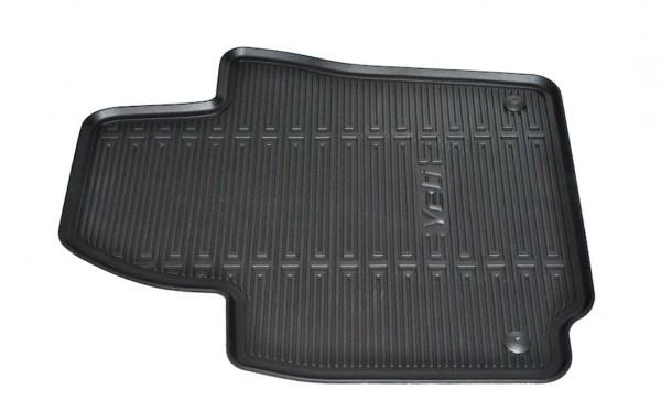 ŠKODA Gummifußmatten-Set mit feiner Mattenstruktur und erhöhtem Rand, Yeti (5L), Yeti Facelift (5L)