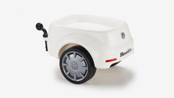 Volkswagen Junior Beetle Anhänger in Weiß