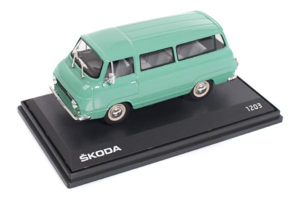 ŠKODA Modellauto 1203 (1968), 1:43, Farbe Grün