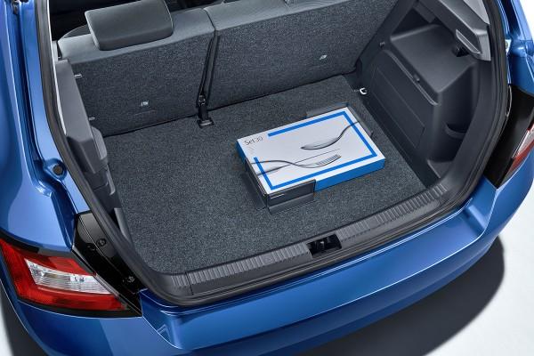ŠKODA Gepäckfixierung / Cargoelemente für den Kofferraum, 2 Stück