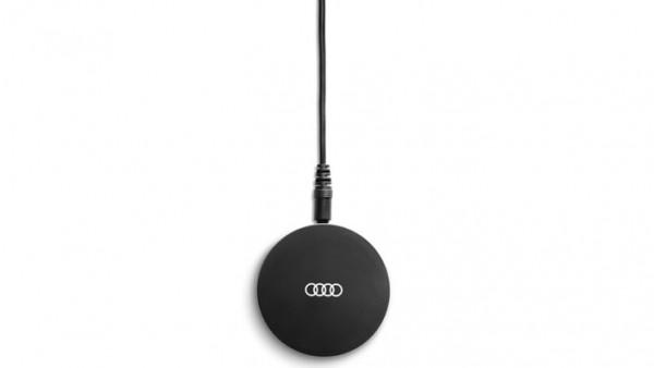 Induktive Ladestation für Mobiltelefone mit Wireless Charging nach Qi-Standradt