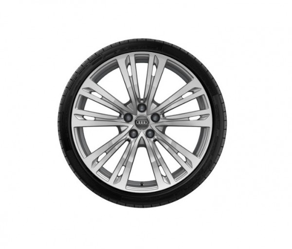 Winterkomplettrad-Satz im 10-Parallelspeichen-Design 265/40 R20 104V Pirelli Audi A8 ab MJ 2018
