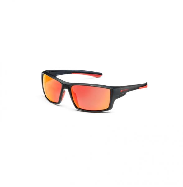 Audi Sport Sonnenbrille verspiegelt, schwarz/rot