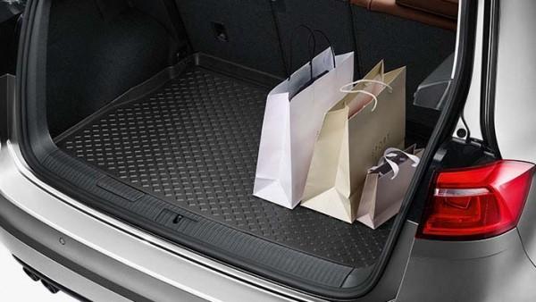 Gepäckraumeinlage für Golf Sportsvan mit variablem Ladeboden