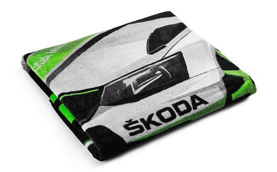 ŠKODA Frottier-/Strandtuch Motorsport, Schwarz