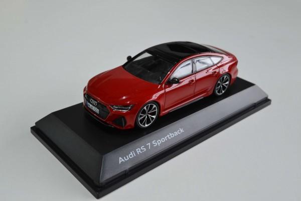 Modellatuo Audi RS 7 Sportback, 1:43, Tangorot