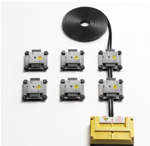 Audi Marderabwehr-Anlage mit Edelstahlkontaktplatten und Ultraschall