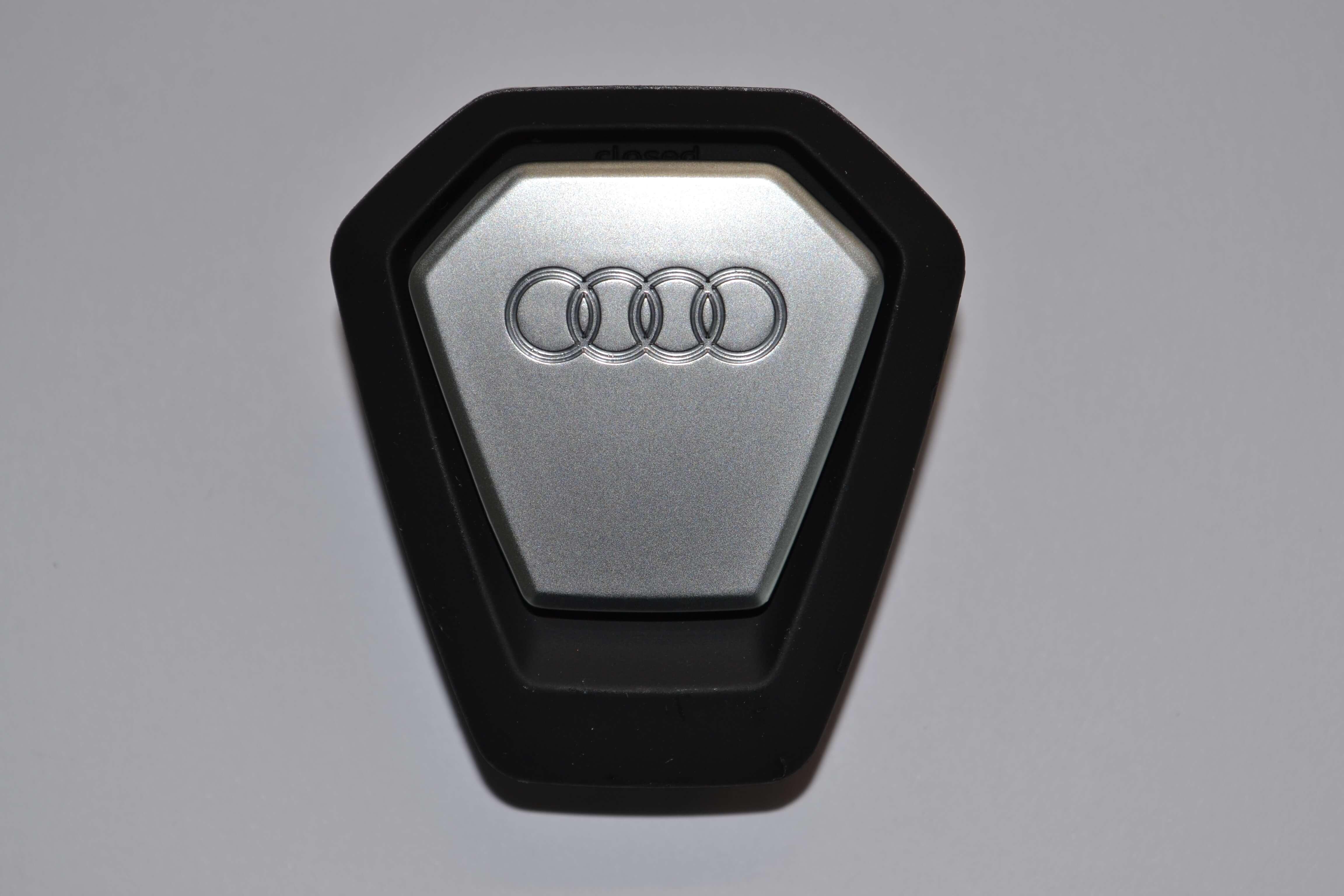 Original Audi Duftspender Singleframe schwarz orientalisch