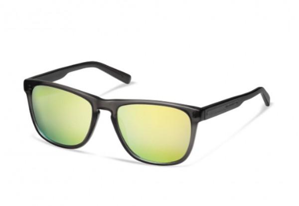 Audi quattro Sonnenbrille verspiegelt, anthrazit/gelb