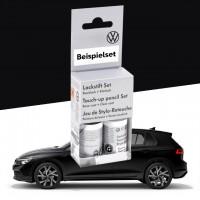 Volkswagen Lackstift-Set deep black-perleffekt/orcaschwarz-metallic, Lacknummer C9X