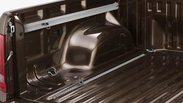 Volkswagen Schienensystem für Ladefläche des Amarok (Doppelkabine)