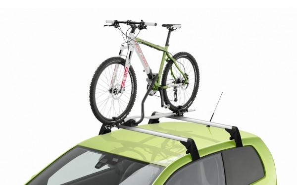 ŠKODA Fahrradträger Aluminium, abschließbar, für Grundträger