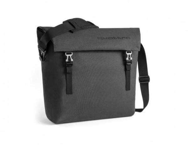 Audi Sport quattro Messenger Bag, dunkelgrau