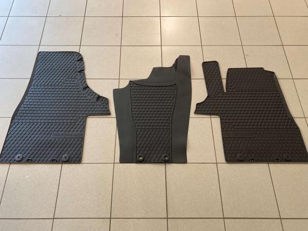 Volkswagen Allwetterfußmatten 3er-Set vorn, titanschwarz, T5 und T6