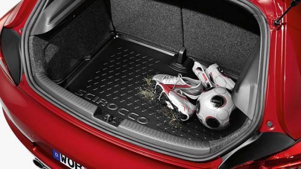 Gepäckraumschale für Scirocco mit Basisladeboden