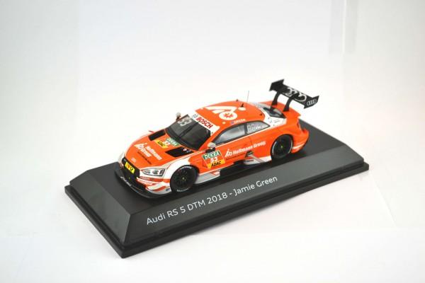 Modellauto Audi RS 5 DTM 2018, Green, 1:43