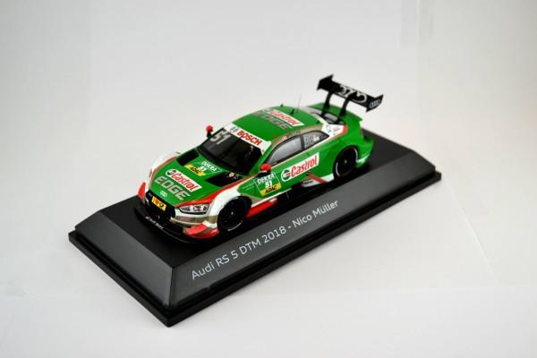 Modellauto Audi RS 5 DTM 2018, Müller, 1:43
