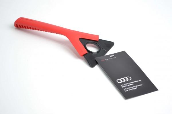 Audi Eiskratzer multifunktional, mit drehbarer Schaberklinge