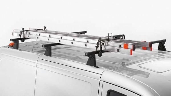 Volkswagen Leiterhalter für Transport auf dem Fahrzeugdach des Caddy, Crafter