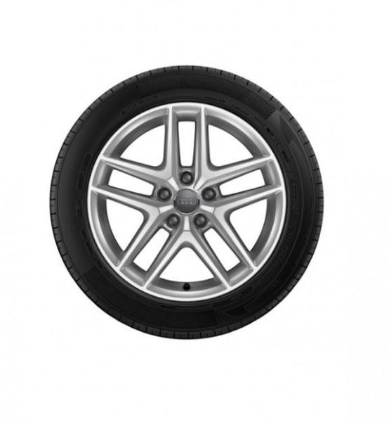 Winterkomplettrad-Satz im 5-Parallelspeichen-V-Design Audi A4 Allroad 225/55 R17