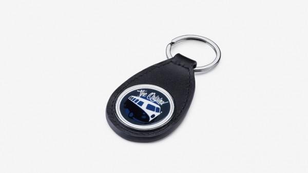 Schlüsselanhänger Nutzfahrzeuge T1 Leder schwarz