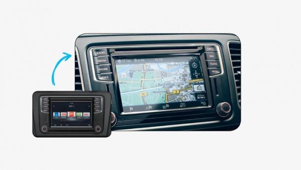 "Volkswagen MIB PQ Navigationsumrüstung ""Discover Media"""