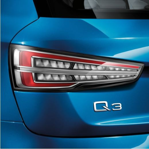 Nachrüstsatz LED-Heckleuchten Klarglas Audi Q3 8U