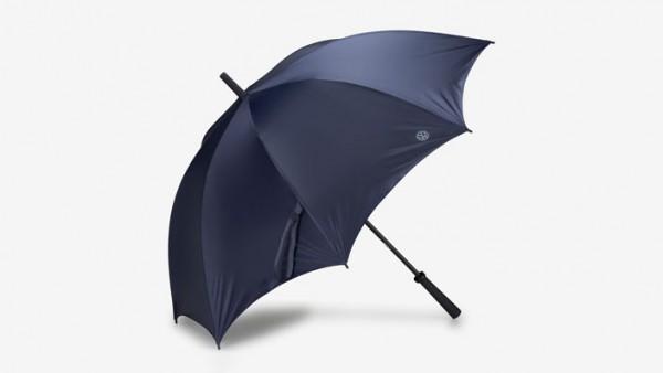 Volkswagen Nutzfahrzeuge Regenschirm Motiv T6 blau,grau