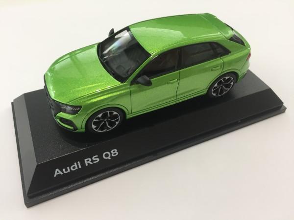 Modellauto Audi RS Q8, Javagrün, 1:43