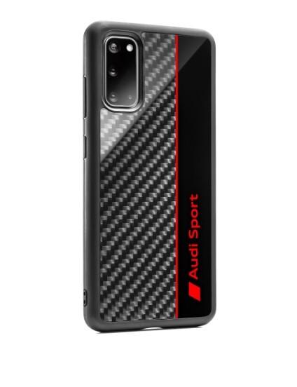 Audi Sport Smartphonecase, Samsung S20, grau