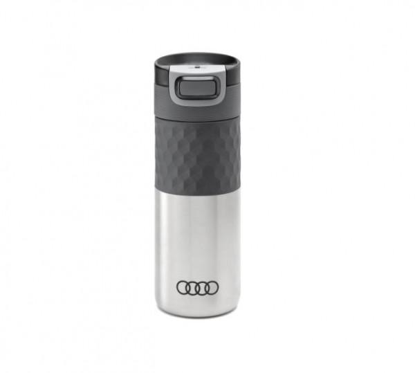 Audi Isolierbecher Edelstahl, silber