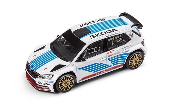 ŠKODA Modellauto FABIA R5 - Monte Carlo