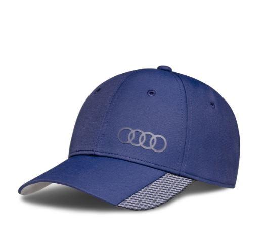 Audi Cap Premium, blau, 55 - 59cm
