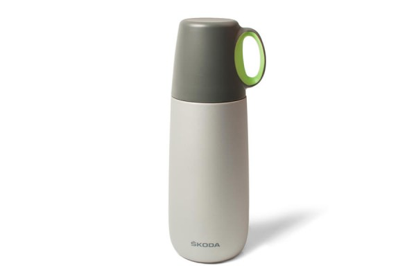 "ŠKODA Thermos-/Isolierflasche ""Bopp Hot"", Grau"